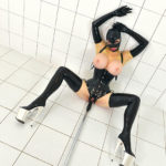 MIS FETICHES: LATEX LUCY PRICK ON A STICK II